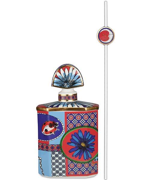 Bottiglia portafragranze in porcellana maxi COLLEZIONE JOKE DECORO COCCINELLA