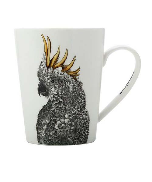 mug-porcellana-papagallo