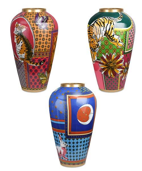 Vaso in porcellana 37 cm