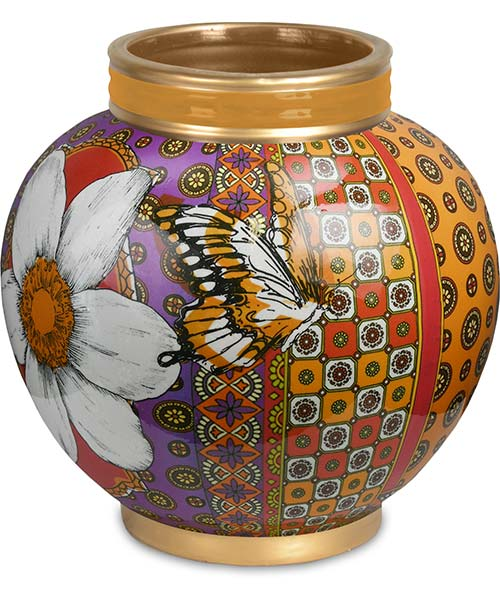 Vaso in porcellana 24 cm