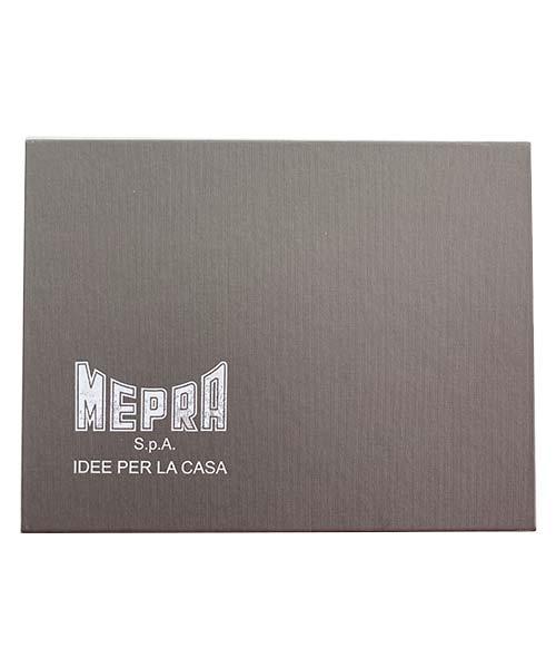 SET 6 CUCCHIAINI CON MANICO MANICO PIATTO INOX MEPRA SPA