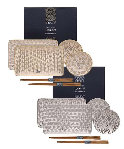 Sushi Set 6 pezzi Nippon - Limited Edition