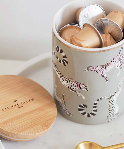 Barattolo da Cucina in Porcellana