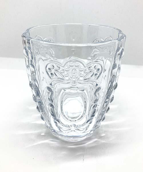 Bicchieri in Vetro Rococo glamour livellara milano