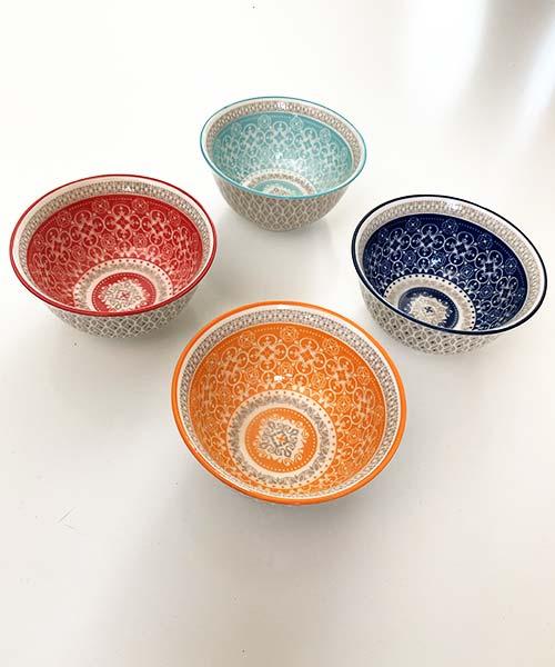 Set 4 Coppette Porcellana - Design + Art Cementine