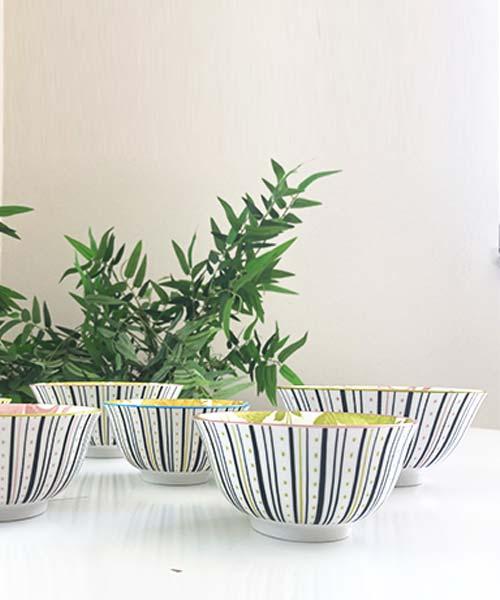 Set 4 Coppette Porcellana - Design + Art