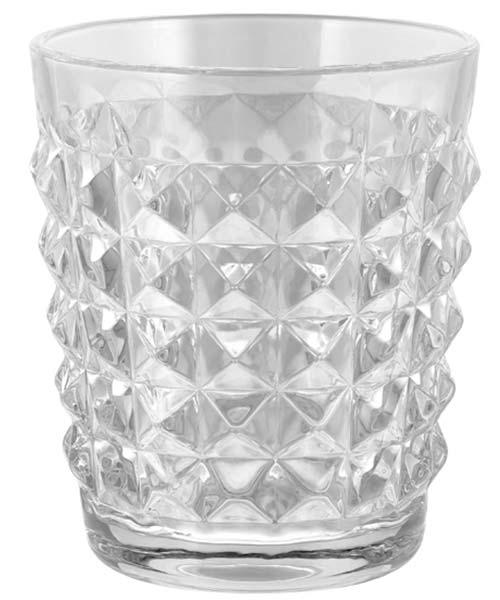 Bicchieri in vetro GLAM Tiffany