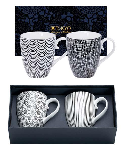 Set 2 Mug Nippon Black