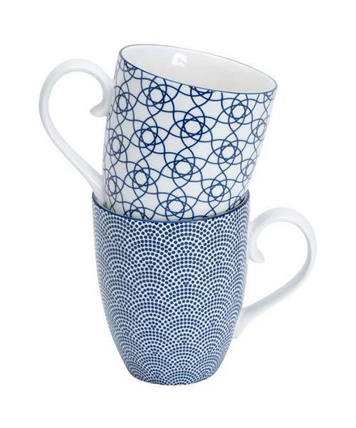 Set 2 Mug Nippon Blue