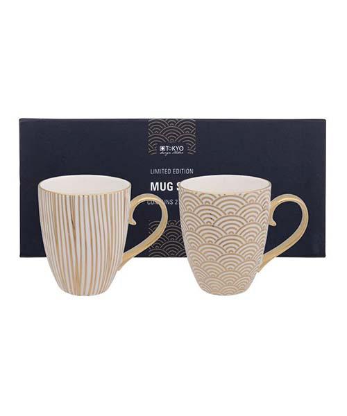 Set 2 Mug Nippon Gold