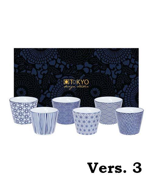 Set 6 Bicchieri Nippon Blue