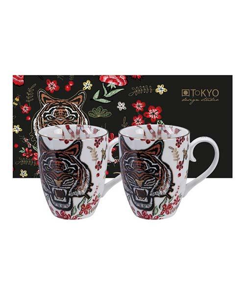 Set 2 Mug Magical Tiger